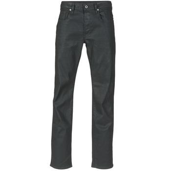 Odjeća Muškarci  Traperice ravnog kroja G-Star Raw 3301 STRAIGHT Crna