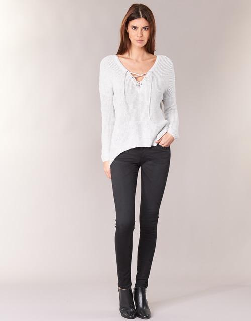 Odjeća Žene  Skinny traperice Pepe jeans SOHO S98 / Crna