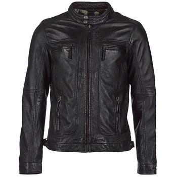 Odjeća Muškarci  Kožne i sintetičke jakne Oakwood CASEY Crna