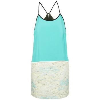 Odjeća Žene  Kratke haljine See U Soon ELEMAILLE Blue / Bijela