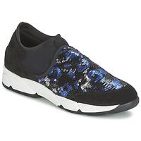 Obuća Žene  Slip-on cipele Meline LEO Crna / Blue