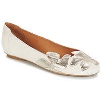 Obuća Žene  Balerinke i Mary Jane cipele Betty London ERUNE Bijela / Srebrna