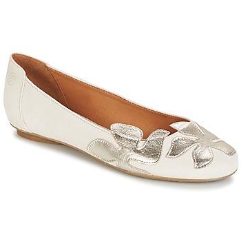 Obuća Žene  Balerinke i Mary Jane cipele Betty London ERUNE Bijela / Stříbřitá