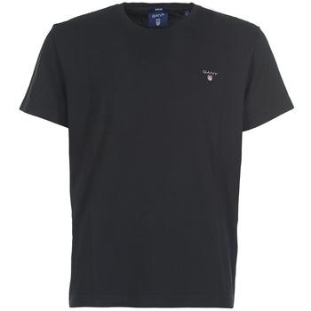 Odjeća Muškarci  Majice kratkih rukava Gant THE ORIGINAL T-SHIRT Crna