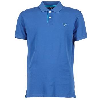 Odjeća Muškarci  Polo majice kratkih rukava Gant CONTRAST COLLAR PIQUE Blue