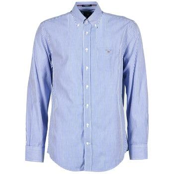 Odjeća Muškarci  Košulje dugih rukava Gant THE POPLIN BANKER Blue