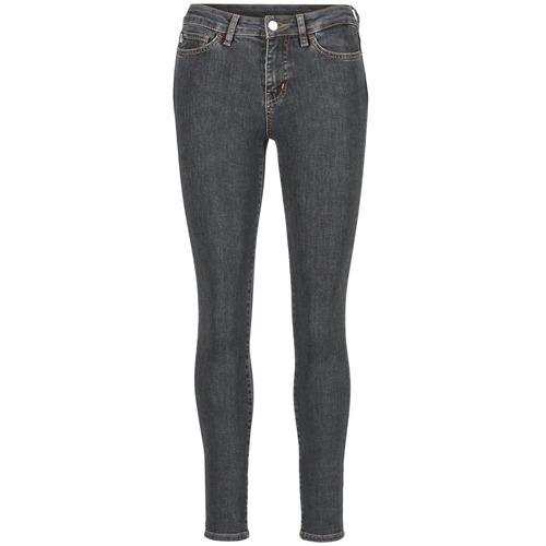 Odjeća Žene  Slim traperice Love Moschino AGAPANTE Siva