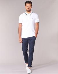 Odjeća Muškarci  Chino hlačei hlače mrkva kroja Selected THREE PARIS Blue