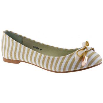 Obuća Žene  Balerinke i Mary Jane cipele F. Milano  Bež