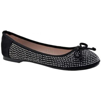 Obuća Žene  Balerinke i Mary Jane cipele F. Milano  Crna