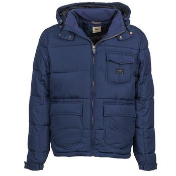 Odjeća Muškarci  Pernate jakne Lee LOCO PUFFA Blue