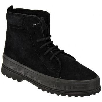 Obuća Dječak  Čizme za snijeg Superga  Crna