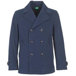 Odjeća Muškarci  Kaputi Benetton FIMARA Blue