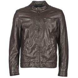 Odjeća Muškarci  Kožne i sintetičke jakne Benetton HOULO Smeđa