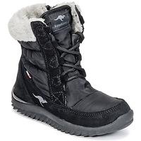Obuća Djevojčica Čizme za snijeg Kangaroos CUPY JUNIOR Crna