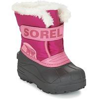 Obuća Djeca Čizme za snijeg Sorel CHILDRENS SNOW COMMANDER Ružičasta