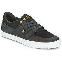 Obuća Muškarci  Niske tenisice DC Shoes WES KREMER Crna / Siva / Žuta