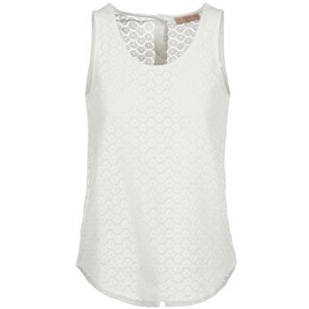 Odjeća Žene  Majice s naramenicama i majice bez rukava Moony Mood IGUOHIAVINE Bijela