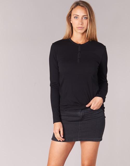 Odjeća Žene  Majice dugih rukava BOTD EBISCOL Crna
