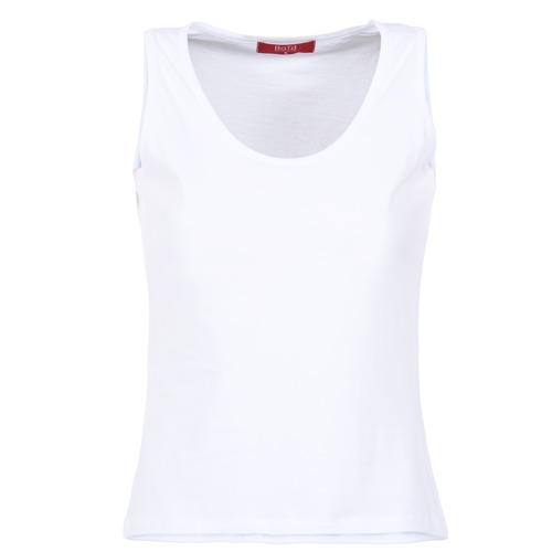 Odjeća Žene  Majice s naramenicama i majice bez rukava BOTD EDEBALA Bijela
