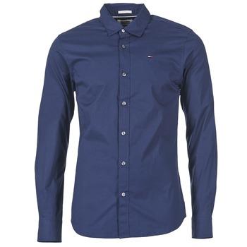 Odjeća Muškarci  Košulje dugih rukava Tommy Jeans KANTERMI Blue