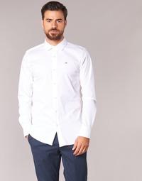 Odjeća Muškarci  Košulje dugih rukava Tommy Jeans KANTERMI Bijela