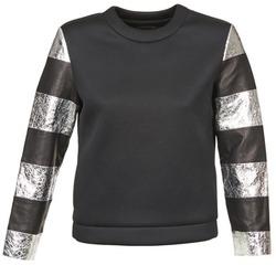 Odjeća Žene  Sportske majice American Retro DOROTHY Crna / Srebrna