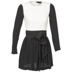Odjeća Žene  Kratke haljine American Retro STANLEY Crna / Bijela
