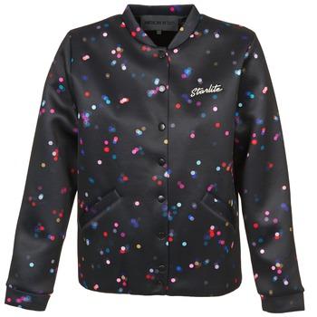 Odjeća Žene  Kratke jakne American Retro ANNETTE Crna