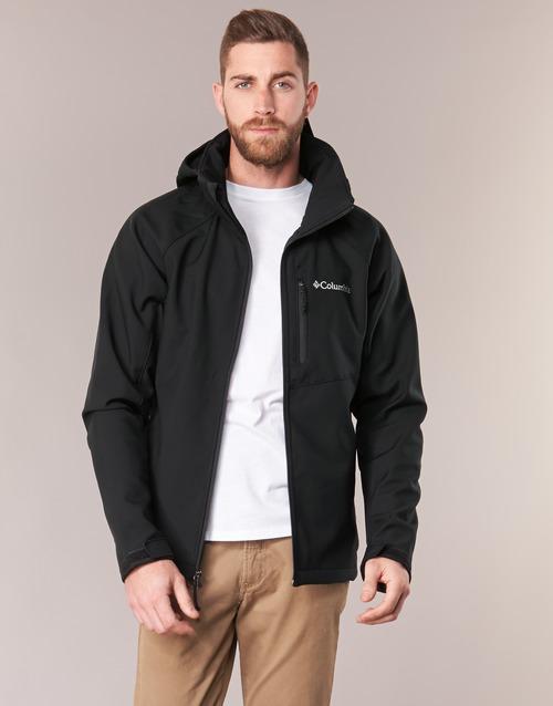 Odjeća Muškarci  Kratke jakne Columbia CASCADE RIDGE II SOFTSHELL Crna