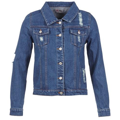 Odjeća Žene  Traper jakne Yurban ESPINALE Blue / Zagasita
