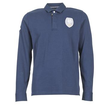 Odjeća Muškarci  Polo majice dugih rukava Serge Blanco ECUSSON COQ Blue