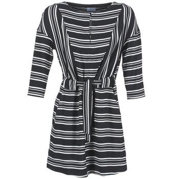 Odjeća Žene  Kratke haljine Loreak Mendian PILI Crna / Bijela