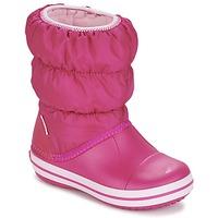 Obuća Djevojčica Čizme za snijeg Crocs WINTER PUFF BOOT KIDS Ružičasta