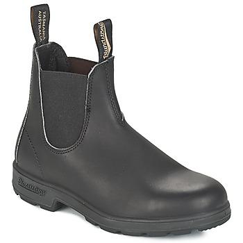Obuća Polučizme Blundstone CLASSIC BOOT Crna / Smeđa