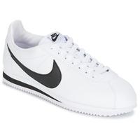 Obuća Muškarci  Niske tenisice Nike CLASSIC CORTEZ LEATHER Bijela / Crna