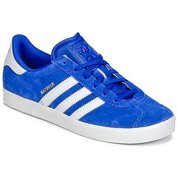 Obuća Dječak  Niske tenisice adidas Originals GAZELLE 2 J Blue