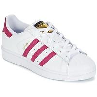 Obuća Djevojčica Niske tenisice adidas Originals SUPERSTAR FOUNDATIO Bijela