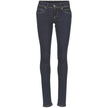 Odjeća Žene  Slim traperice Pepe jeans NEW BROOKE M15 / Blue / Brut