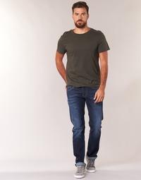 Odjeća Muškarci  Traperice ravnog kroja Pepe jeans CASH Z45 / Blue / Zagasita