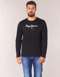 Odjeća Muškarci  Majice dugih rukava Pepe jeans EGGO LONG Crna