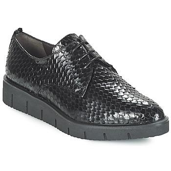 Obuća Žene  Derby cipele Perlato MEQUINI Crna