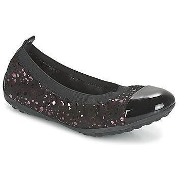 Obuća Djevojčica Balerinke i Mary Jane cipele Geox PIUMA BALLERINE Crna