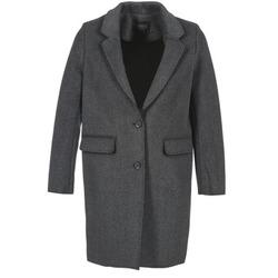 Odjeća Žene  Kaputi Eleven Paris TABLEAUBIS Siva / Crna
