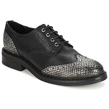 Obuća Žene  Derby cipele Koah LESTER Crna / Srebrna