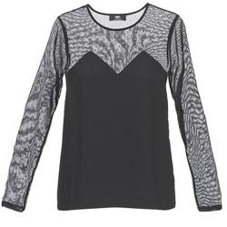 Odjeća Žene  Majice kratkih rukava Le Temps des Cerises ALANNAH Crna