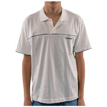 Odjeća Djeca Polo majice kratkih rukava Diadora  Bijela