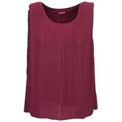 Odjeća Žene  Majice s naramenicama i majice bez rukava Bensimon REINE Boja šljive