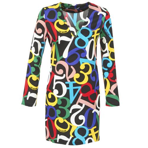 Odjeća Žene  Kratke haljine Love Moschino PICHANI Multicolour