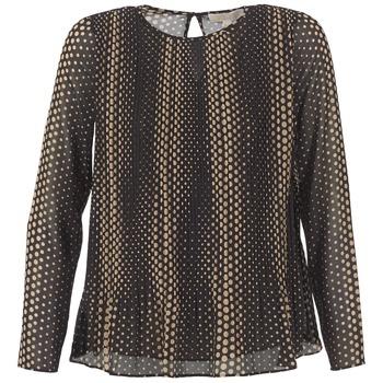 Odjeća Žene  Topovi i bluze MICHAEL Michael Kors OMBOBO Crna / Bež